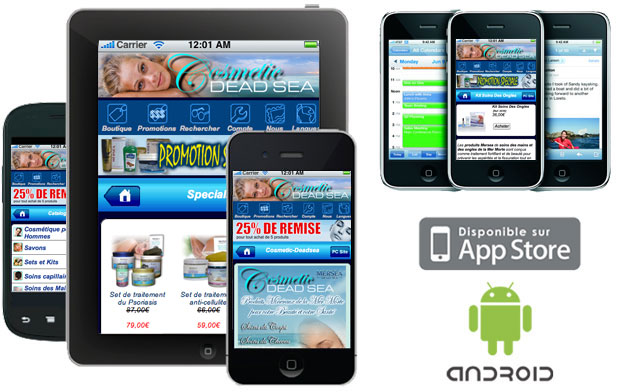 ecommerce iphone - android